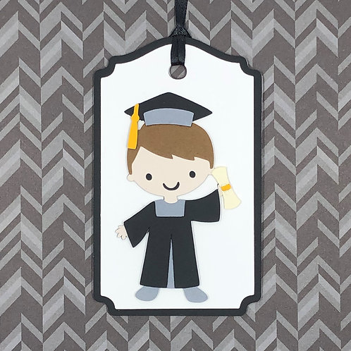 Graduation Boy Gift Tag