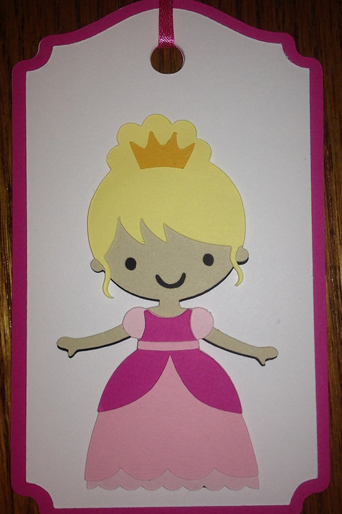 Pretty in Pink Princess Gift Tag