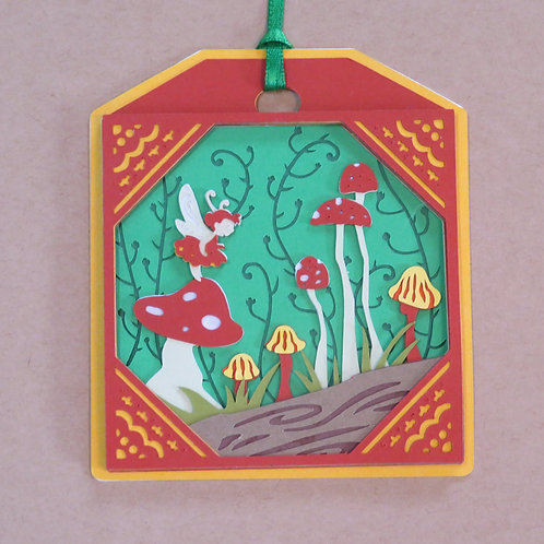 Woodland Fairy Gift Tag