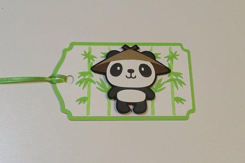 Panda Bear Gift Tag