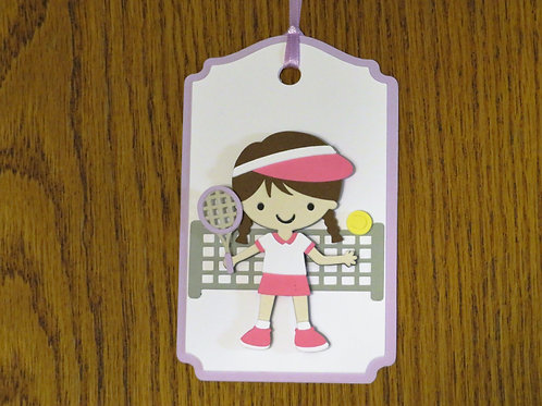 Tennis Anyone? Gift Tag