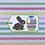 Thumbnail: Easter Treats Chocolate Bunny and Basket Gift Tag