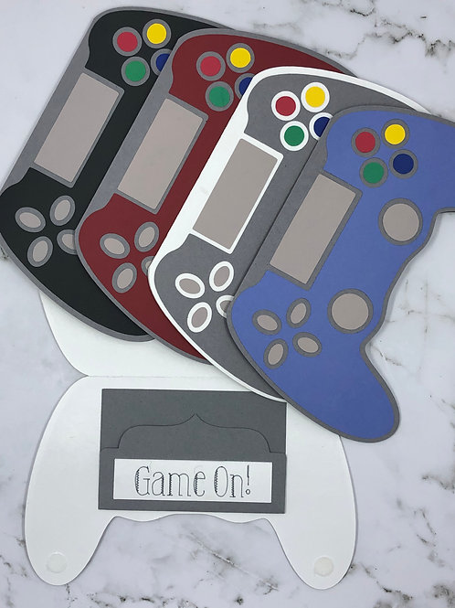 Game Controller Gift Card Holder