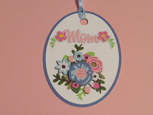 Bouquet for Mom Gift Tag