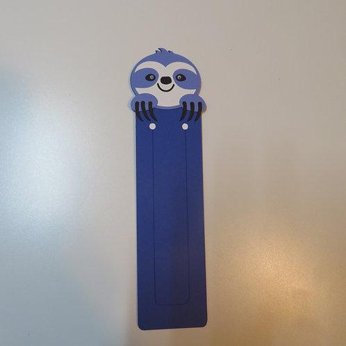 Googly Eyed Happy Sloth Bookmark