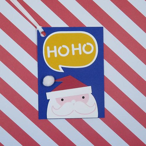 Ho Ho Santa Gift Tag