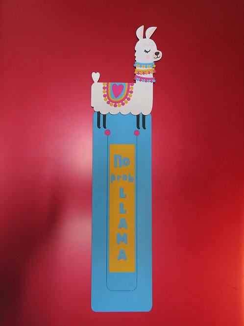 No Prob Llama Bookmark