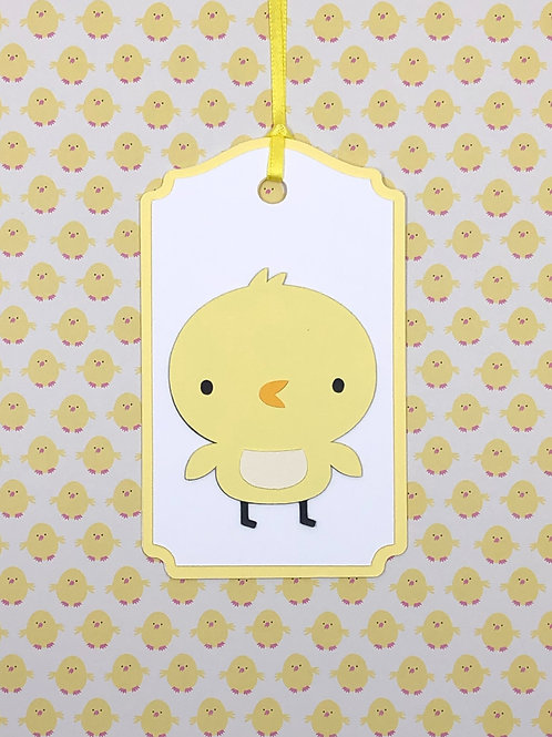 New Spring Chick Gift Tag