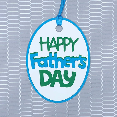 Happy Father's Day Gift Tag