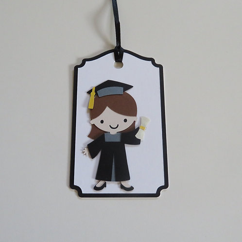 Graduation Girl Gift Tag