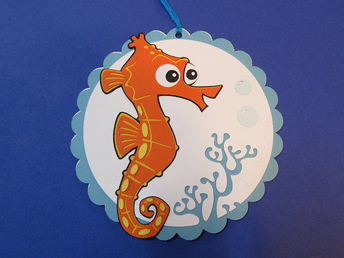 Sheldon from Disney's Finding Nemo Gift Tag