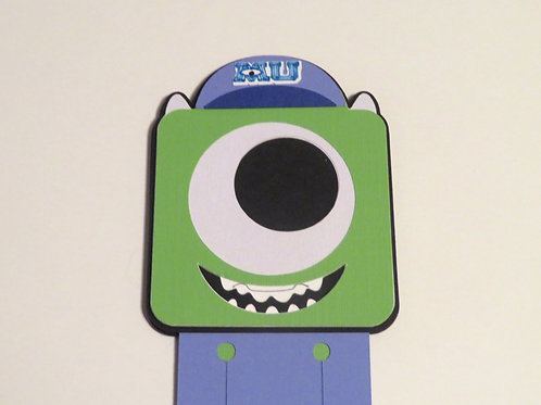 Disney/Pixar College Mike from Monsters University Bookmark