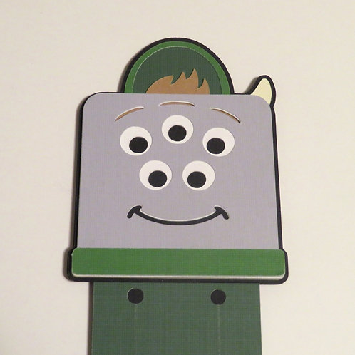 Disney/Pixar Scott AKA Squishy from Monsters University Bookmark
