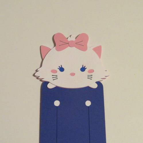 Disney Tsum Tsum Marie from The Aristocats Bookmark