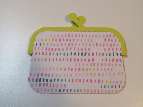 Adorable Coin Purse Gift Card Holder Multicolored