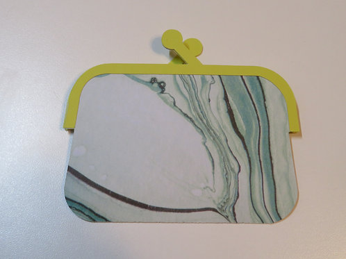Adorable Coin Purse Gift Card Holder Green