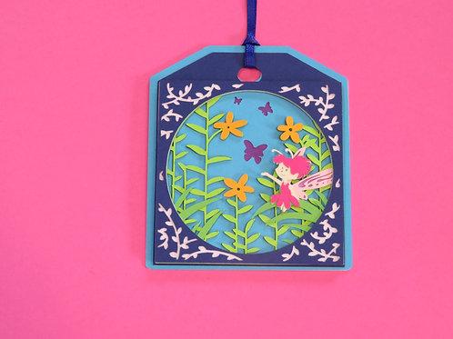 Garden Fairy Gift Tag