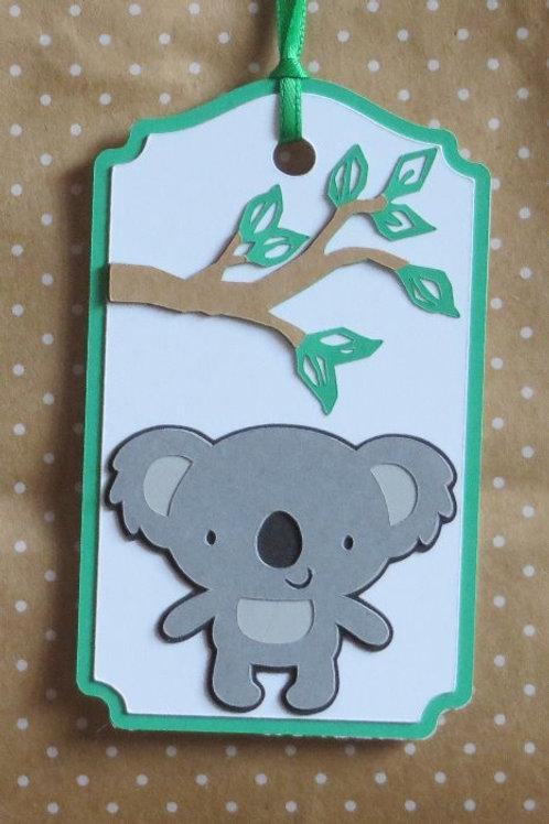 Koala Gift Tag