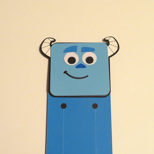 Disney/Pixar College Sulley from Monsters University Bookmark