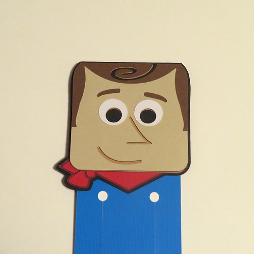 Disney/Pixar Woody from Toy Story Bookmark