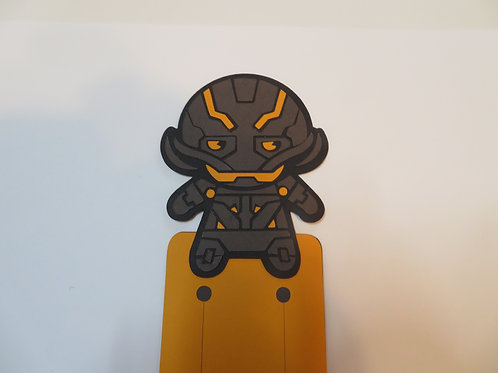 Handmade Layered Ultron Bookmark