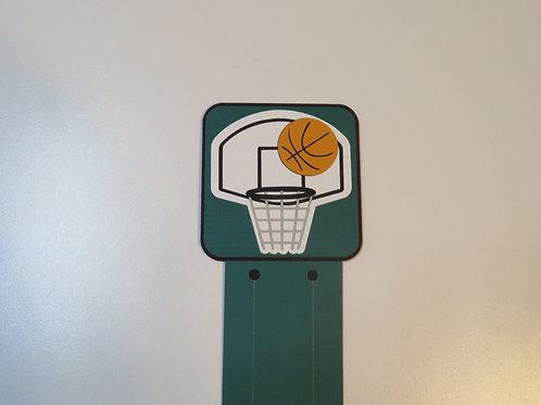 Basketball Bookmark