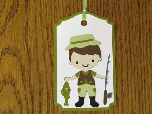 Fisherman Gift Tag