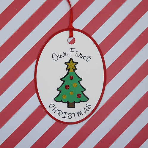 Our First Christmas Gift Tag