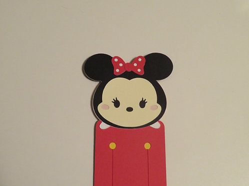 Disney Tsum Tsum Minnie Mouse Bookmark