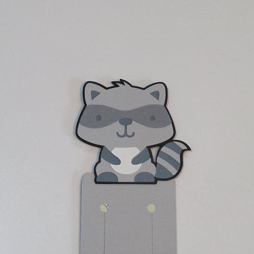Ricky Raccoon Bookmark
