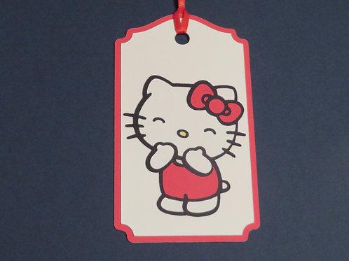 Sanrio Hello Kitty Blowing Kisses Gift Tag