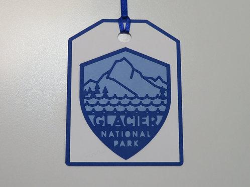 Glacier National Park Gift Tag