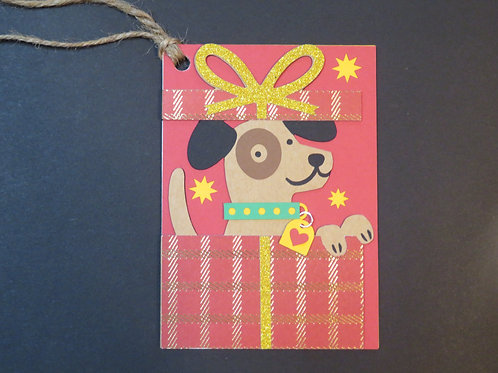 Puppy Surprise Gift Tag