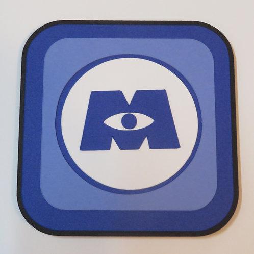 Disney's Monsters Inc Logo Embellishment