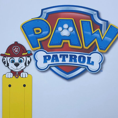 Marshall from Paw Patrol Bookmark