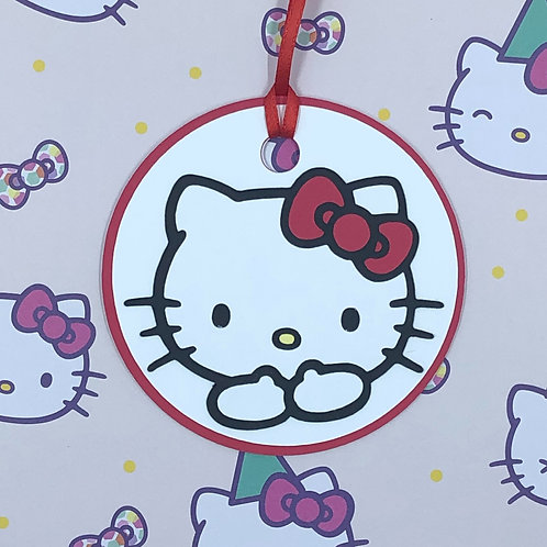 Sanrio Hello Kitty Hugs Gift Tag
