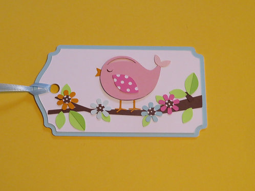 Sweet Song of Spring Gift Tag