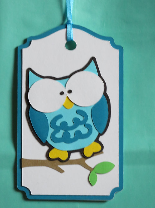 Silly Owl Gift Tag