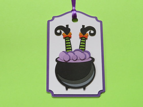 Bad Day for a Witch Halloween Gift Tag