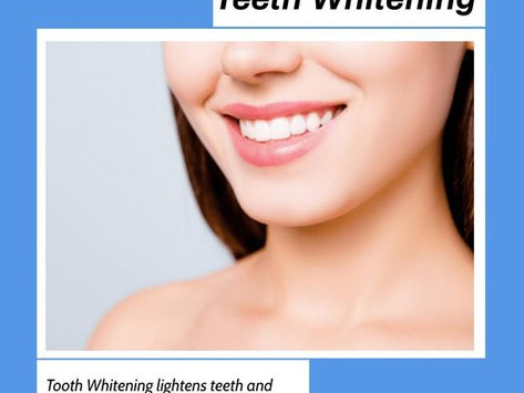 Why you should go for a Teeth Whitening? Dr. Vinisha Pandey Dentistry