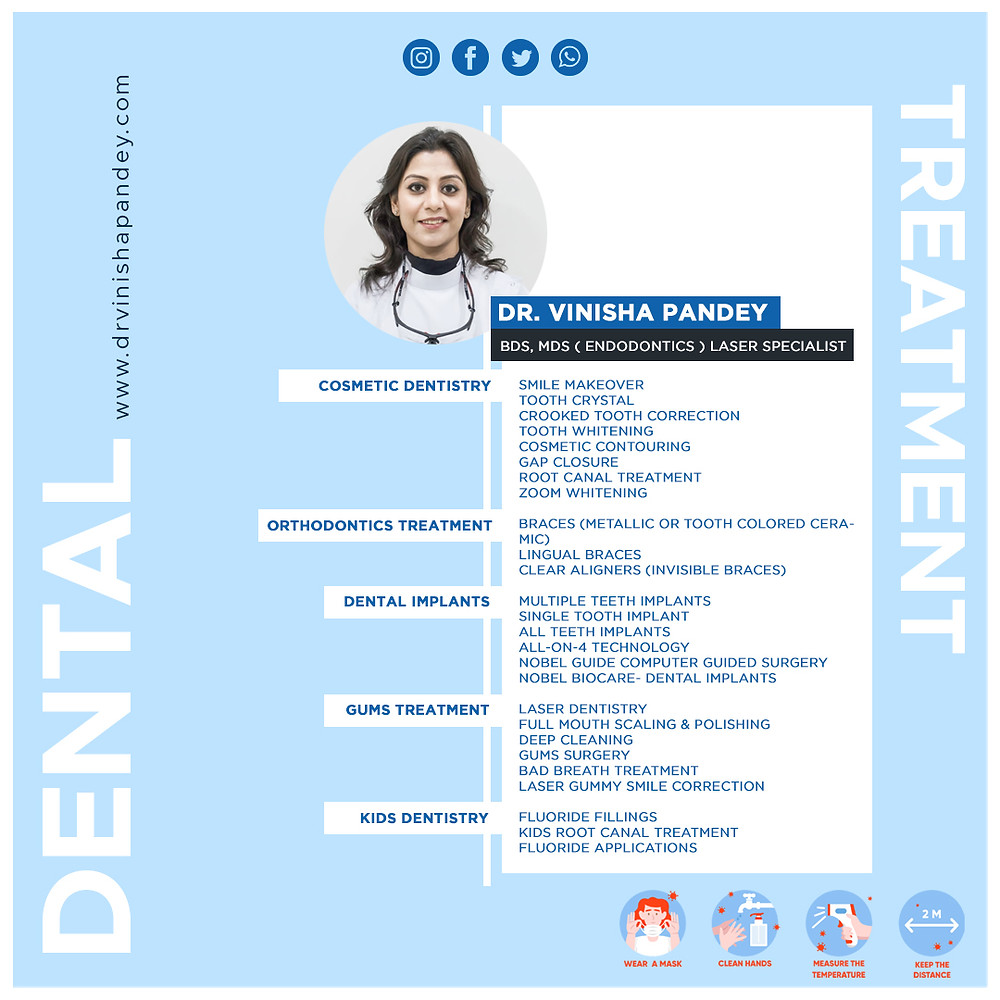 Best Dentist in Kanpur   Dr. Vinisha Pandey Dentistry