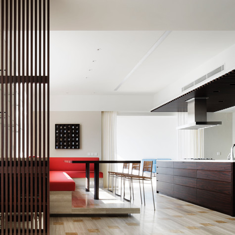 Residential project, the peak