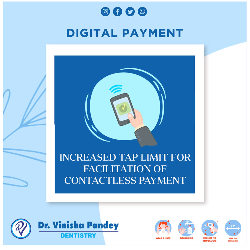 digital payments by dental clinic in india