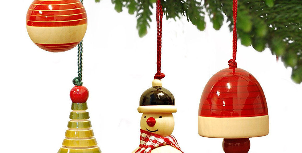 Handcrafted Wooden Christmas Decor : YULETS Collection 2