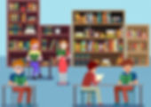 study_drawing_reading_human_library_icon