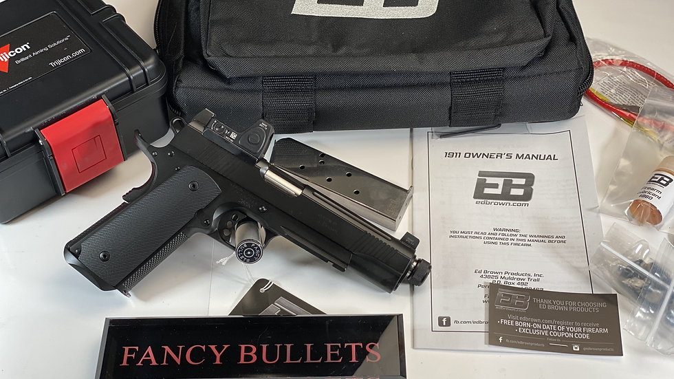 ED BROWN, SPECIAL FORCES SR, THREADED BARREL, 45ACP and RMR