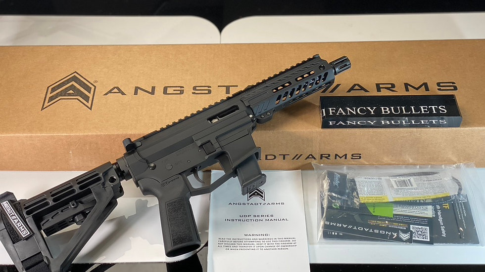 """Angstadt Arms, UDP-9, Semi-automatic, 9MM, 6"""" Barrel, Black Color, Polymer Pisto"""