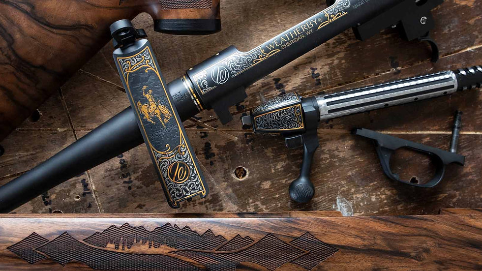 MARK V® WYOMING GOLD EDITION COMMEMORATIVE RIFLE