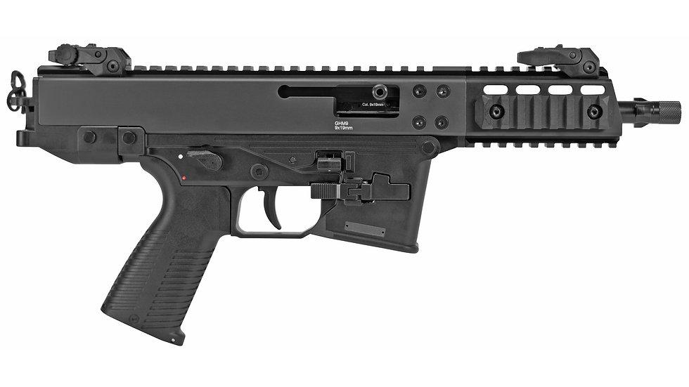 "B&T, GHM9 Gen 2 Compact, Semi-automatic, 9MM, 4"" Barrel, Steel Frame, Black"