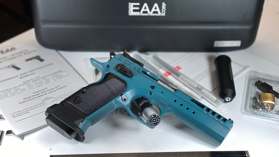 EAA WITNESS LTD CUSTOM 10MM TANCOAT 14RD